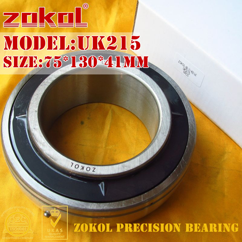ZOKOL bearing UK215 Taper hole 190515 Pillow Block Ball Bearing 75*130*41mmZOKOL bearing UK215 Taper hole 190515 Pillow Block Ball Bearing 75*130*41mm