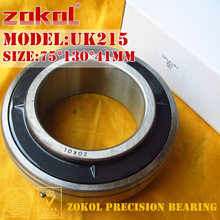 ZOKOL bearing UK215 Taper hole 190515 Pillow Block Ball Bearing 75*130*41mm(China)