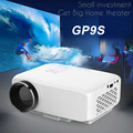 New GP9S Home Theater Mini Portable LED TV Projector Beamer 800 Lumen SD / HDMI / VGA / AV / USB Port 1080P LCD Projectors