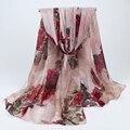 Bandanas lenços Étnicos Espanhol Lenço com Print180x90cm longo outono inverno Ladies shawl foulard mulheres BLS021