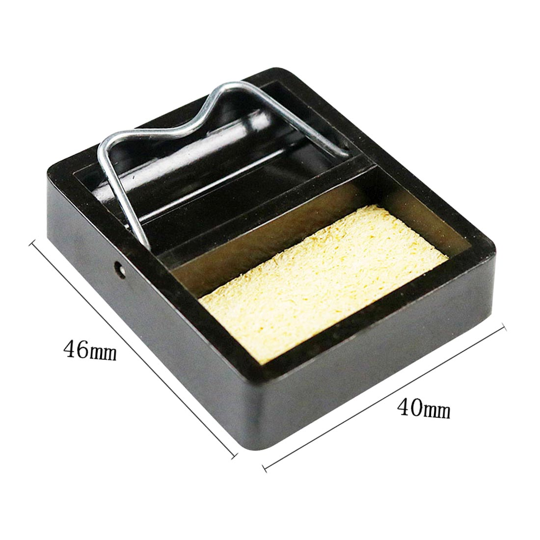 DIY Electric Soldering Iron Stand Holder Metal Support Station With Solder Sponge Soldering Iron Frame Small And Simple