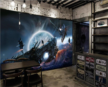 beibehang 3d stereoscopic personality space capsule KTV background papel de parede wallpaper behang hudas beauty papier peint