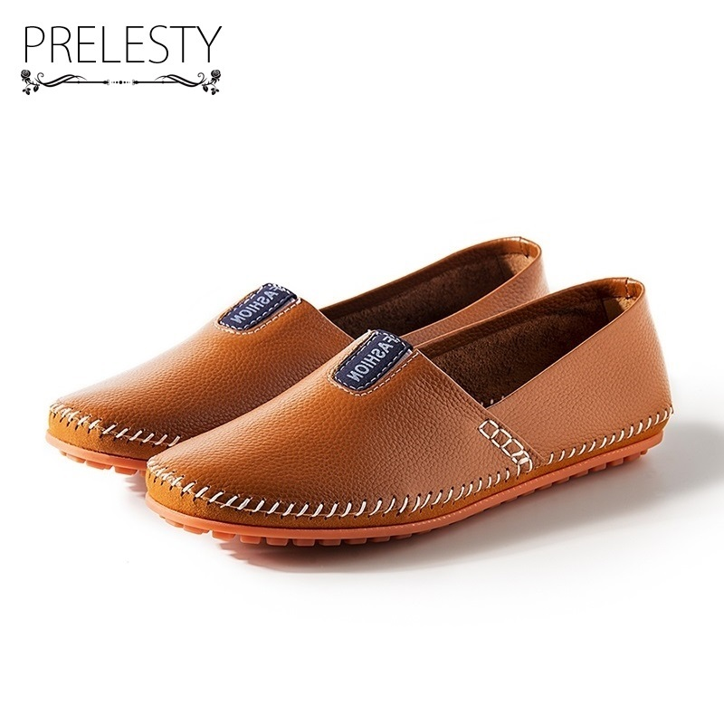 Prelesty Basic Style Men Slip on Shoes Microfiber Comfortable Non-slip Rubber Outsole Simple Mocassin Autumn Shoes Waterproof DS france tigergrip waterproof work safety shoes woman and man soft sole rubber kitchen sea food shop non slip chef shoes cover