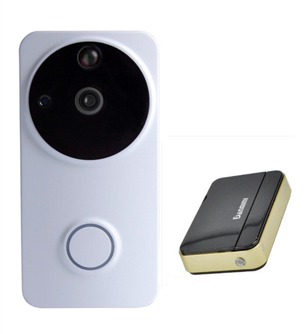 Беспроводной wifi звонок широкоугольный домофон низкое энергопотребление Видео дверной телефон