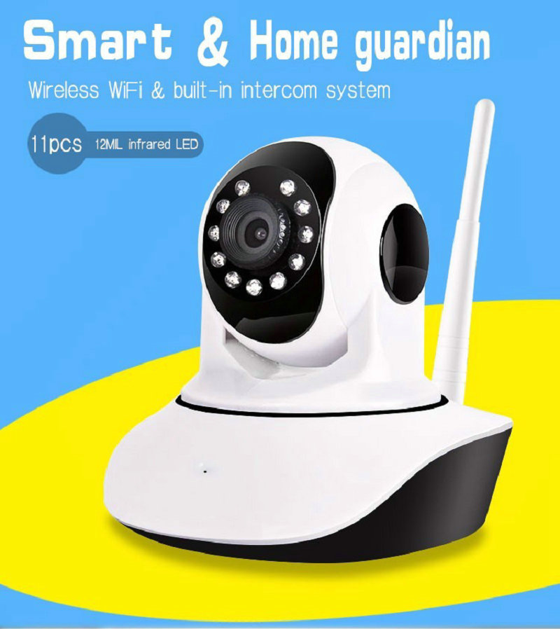 Q5 V380 Mini IP Camera HD 720P Video Surveillance CCTV System P2P Pan Tilt WiFi Hotspot