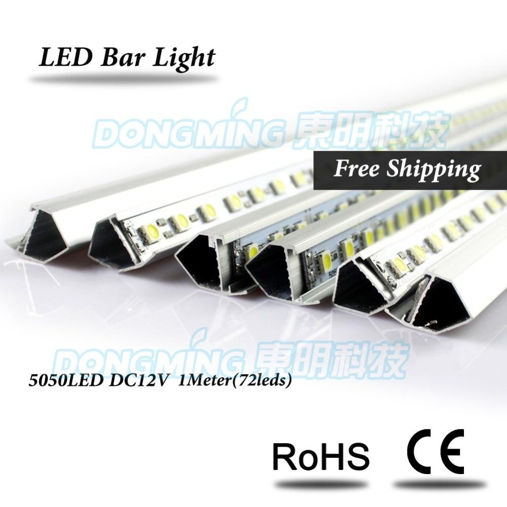 U/V Form Aluminiumprofil smd 5050 LED luces Streifen DC 12 V führte ...
