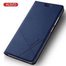 Huawei NOVA случае высокое качество натуральной alivo флип чехол Huawei NOVA Роскошный кожаный чехол для Huawei NOVA Lite случаях