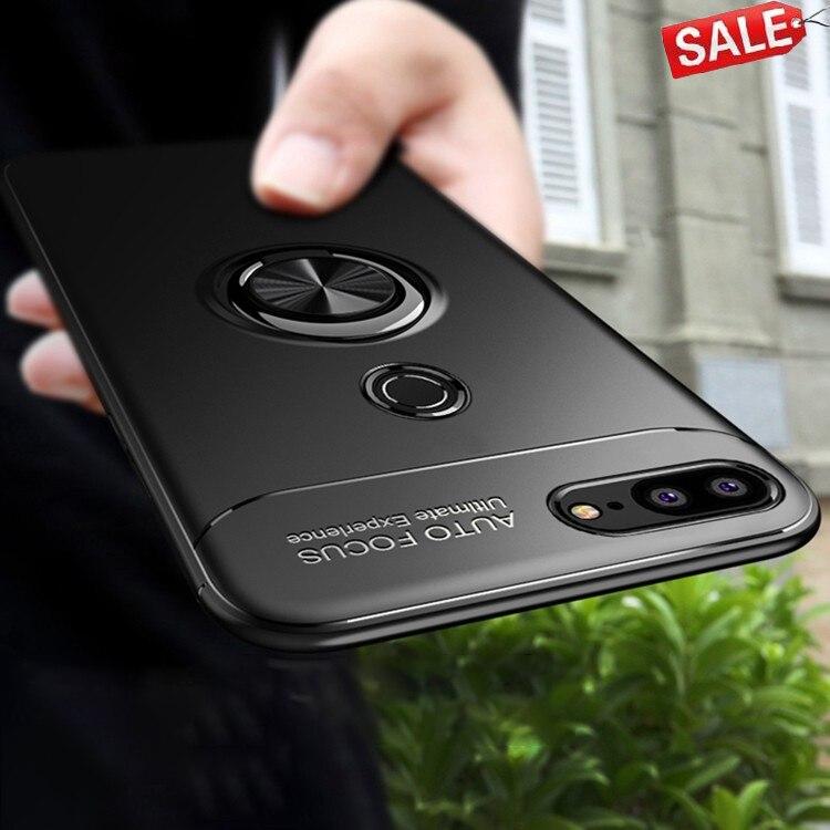 Чехол для Honor 9 Lite для Huawei Honor 9 Lite Автомобильный держатель Стенд держатель с магнитным креплением крышка кольцо держатель бампер задняя крыш...