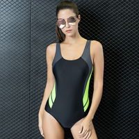 Women S One Piece Swimsuit Sexy Backless Athletics Swimwear Tankini Racing One Piece Bathing Suit