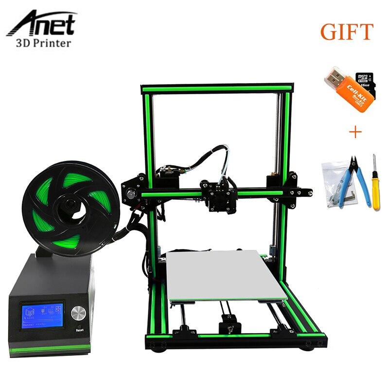 Hot Sale Anet E10 3D Printer Machine Aluminum Frame Reprap Prusa i3 ...