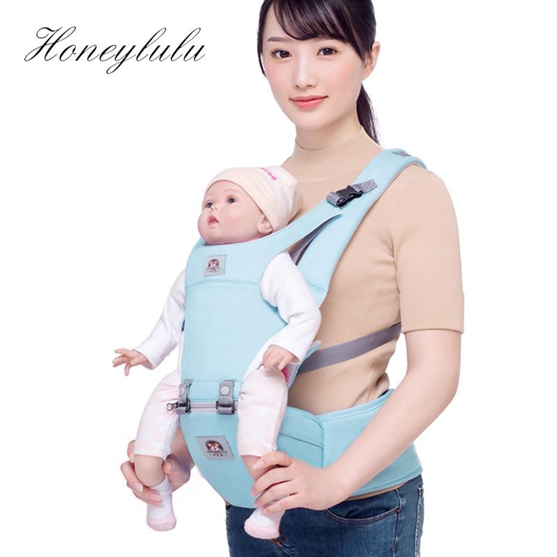 Honeylulu Four Seasons Ergonomic Baby Carrier Multifunctional Sling For Newborns Kangaroo For Baby Ergoryukzak Hipsit Backpack