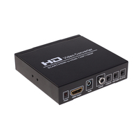 1080P Scart /HDMI To HDMI Video Audio Upscale Converter Scart to HDMI Converter AV Signal Adapter HD Receiver