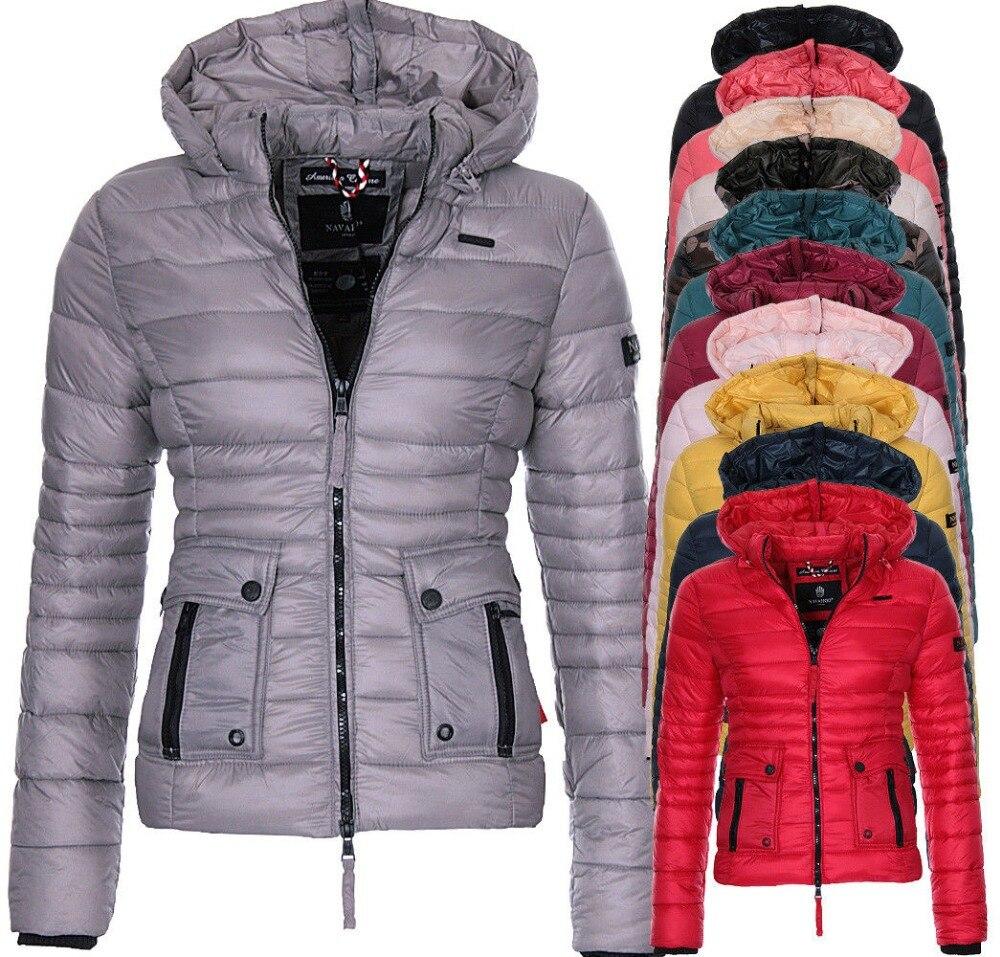 ZOGAA 2019 New Spring Coat Cotton Paddedd Light Warm Overcoat Coat Casual Solid Jacket Women Parkas Outerwear Women Winter Coat