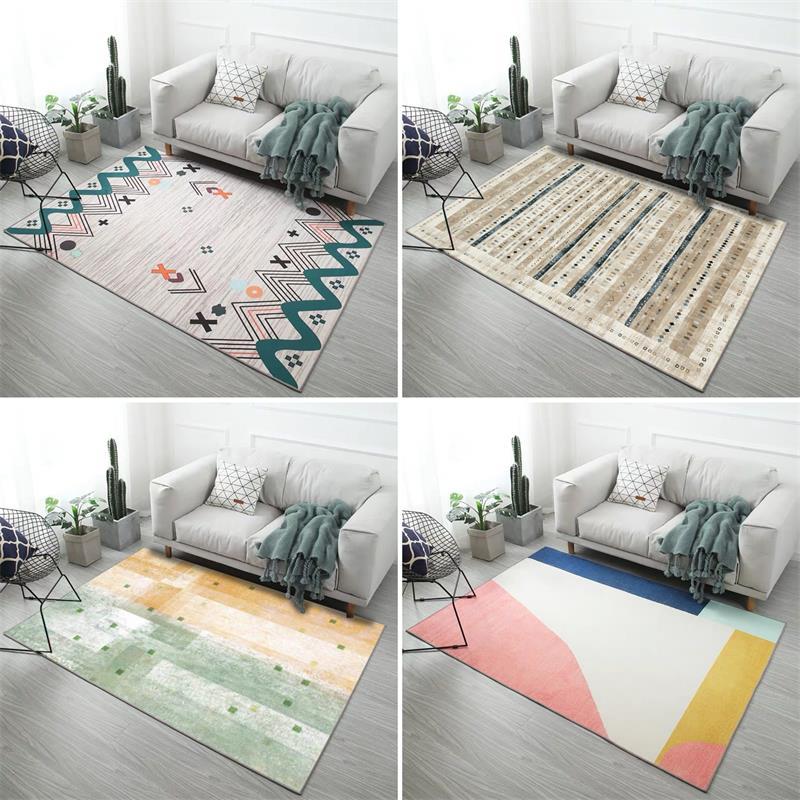 Tapis pour salon chambre peluche tapis anti-dérapant tapis tapis Style Europe alfombras para la sala moderna décoration Maison