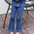 Весной 2017 новые девушки джинсы носить случайный брюки брюки для детей бесплатная доставка
