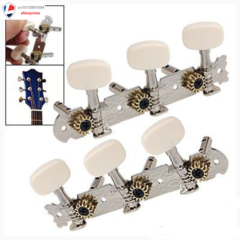 NEW 3L3R Spare Open-Gear Guitar Tuners String Tuning Keys Pegs Machine Tuner Heads Guitar Parts Alignment