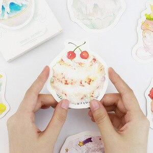 30 шт./лот, корейские летние открытки с десертом, милые бумажные открытки с мороженым, подарочные карты