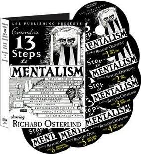 Richard Osterlind-13 Steps To Mentalism 6set ,Magic Tricks