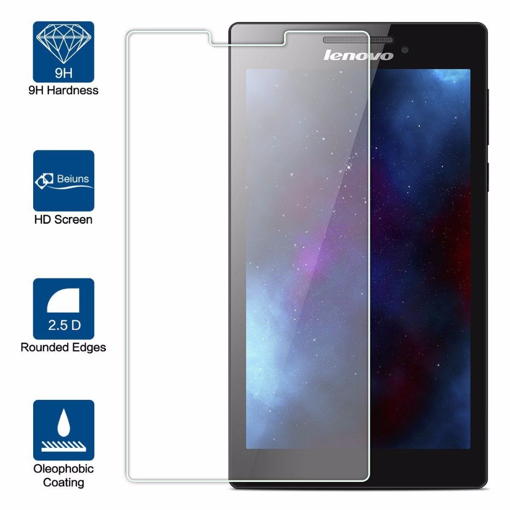 Tempered Glass Screen Protector For Lenovo Tab 2 A7-10 A7-10F A7-20 A7-20F A7-30 A7-30HC A7-30DC Tab2 A7 20 30 Screen Protector lenovo tab 2 a7 30 3g 8gb