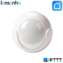 Lonsonho Wireless Wifi PIR Motion Sensor Alarm Detector No HUB Required Smart Home Automation Modules Works IFTTT Life APP