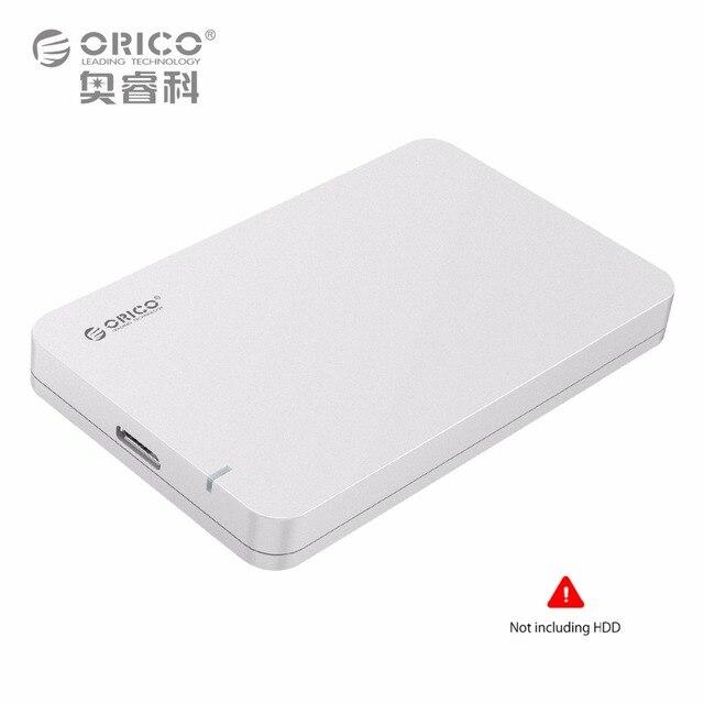 ORICO 2.5 дюймов SATA 3 до USB 3.0 Жесткий Диск SSD внешний Корпус Поддержка UASP Бесплатный Инструмент Горячей Замены Подключи и Играй