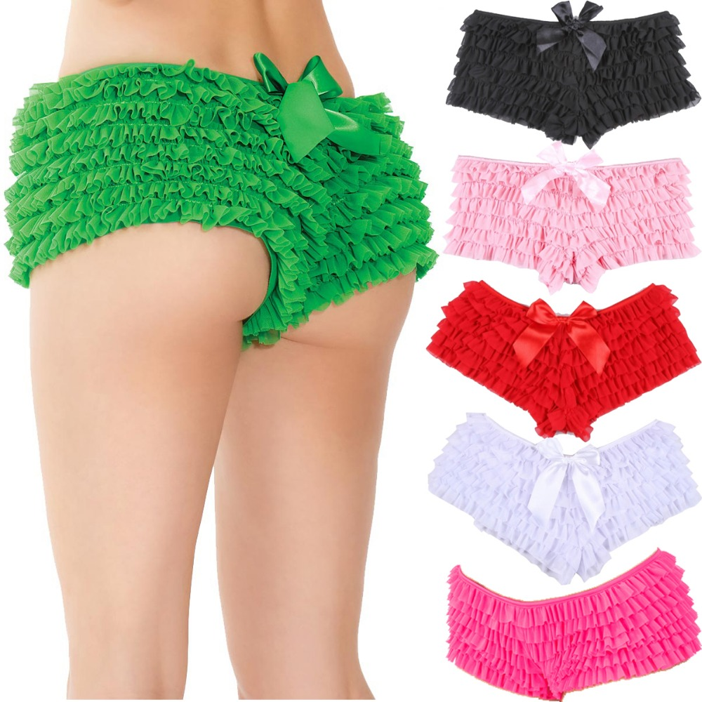 1330288d15646 Detail Feedback Questions about S 2XL Sexy Women Intimates Underwear Muliti  Layered Mesh Ruffled Panty Lingerie Lace PLus Size Hot Panties on  Aliexpress.com ...