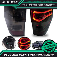 Car Styling Head Lamp for Ford Ranger mustang Taillight LED Taillight ANGEL EYES DRL Bi Xenon Lens HID Headlamp assembly