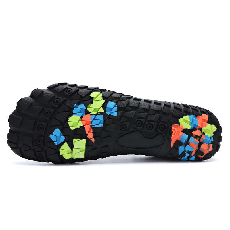 Unisex lato wody na zewnątrz Aqua Beach buty trampki dla kobiet mężczyzn połowów boso wspinaczka buty do pływania kobieta mężczyzna 35-46