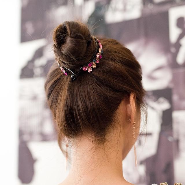Купить женская заколка для волос с кристаллами