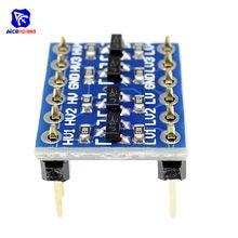 Módulo de placa bidirecional 5 v 3.3 v dc para arduino com pinos diymore iic i2c nível lógico alto/baixo conversor de tensão