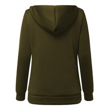 ZANZEA 4XL Winter Coats 2018 Autumn Women Long Hoodies Sweatshirts Casual Thick Fleece Zipper Outerwear Hooded Jacket Plus Size