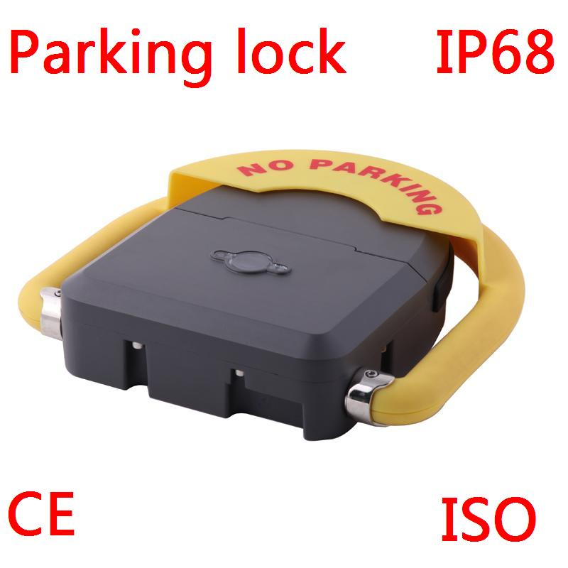 где купить IP68 Outdoor used water proof remote control battery powered automatic parking barrier parking lock parking по лучшей цене
