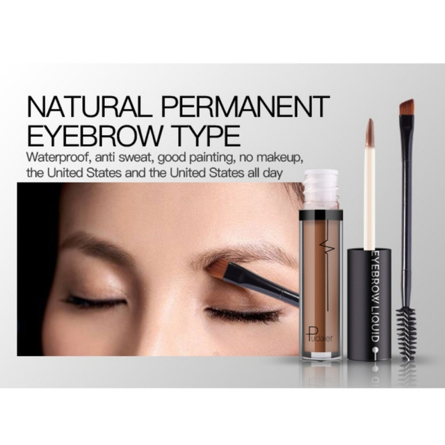 4 Color Waterproof Anti Sweat Does Not Fade Lasting Eyebrows Semi