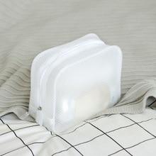 купить Waterproof Wash Three-Dimensional Travel Storage Cosmetic Bag Zipper Appearance EVA Bag Waterproof Makeup Storage Bag по цене 390.14 рублей