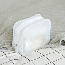 Waterproof Wash Three-Dimensional Travel Storage Cosmetic Bag Zipper Appearance EVA Makeup