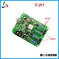 TF-QS1 RGB da cor cheia conduziu o sinal de rolagem controlador suporta cartão de animação de vídeo 256*32 pixels