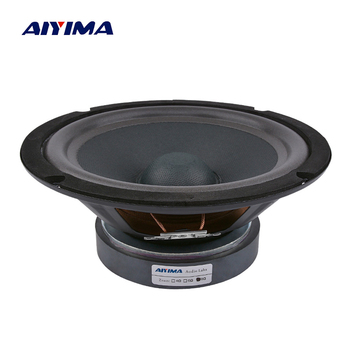 цена на AIYIMA 1Pc 8 Inch Midrange Bass Speakers Audio Sound Speaker Woofer 8 Ohm 300W 35 Core 120 Magnetic LoudSpeaker DIY Home Theater