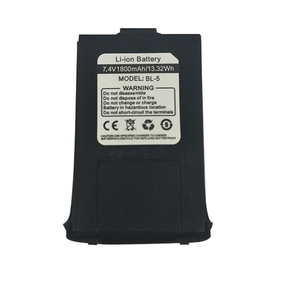 Original 1800mAh 7.4V Li-ion Battery For Baofeng GT-3/GT-3TP MarkII And MarkIII Walkie Talkie Ham Two Way Radio