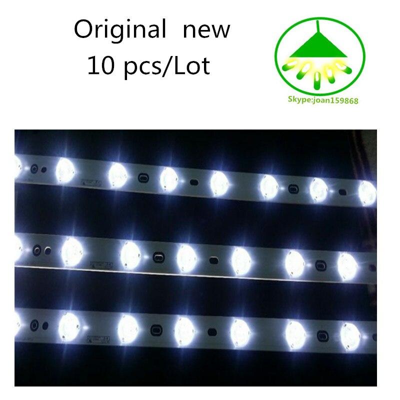 New Original Kit 10pcs LED Strip For V580H1-LD6-TLDC2 V580H1-LD6-TRDC2 V580H1-LD6-TLDC3 V580H1-LD6-TRDC3 LED58R5500F V580HK1-L06