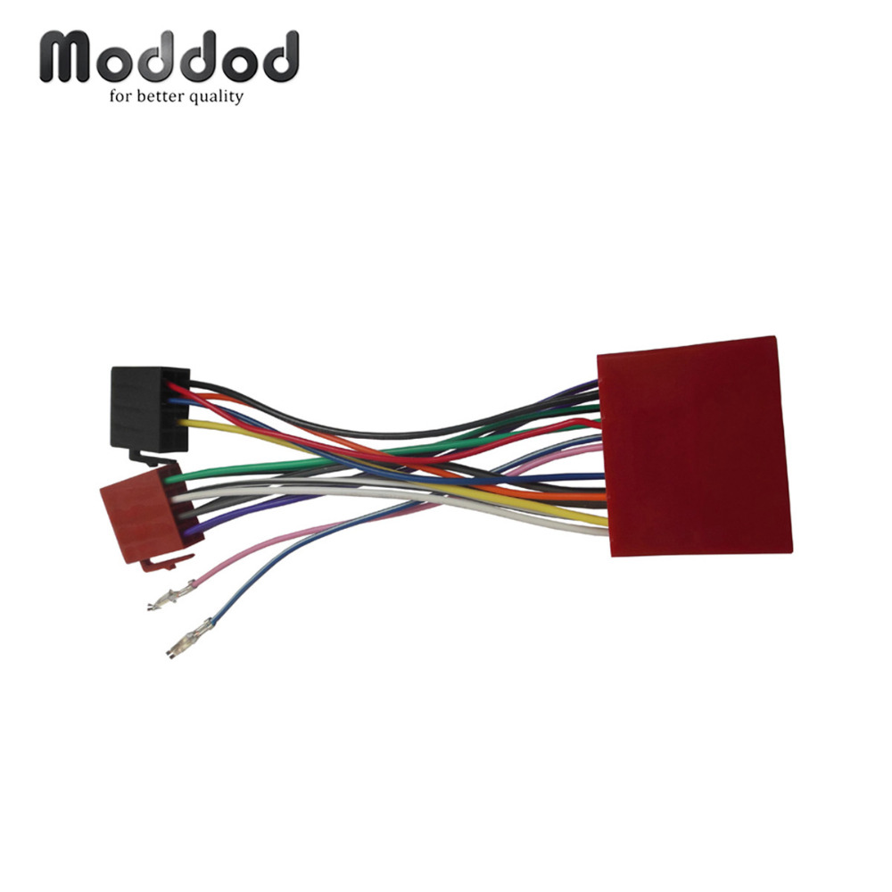 medium resolution of for mazda 2001 iso wiring harness adaptor stereo wire cable aftermarket car iso radio plug