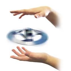 Тайна плавающая летающая тарелка игрушка хорошая Магия НЛО плавающий трюк мистический Забавный Brainlink игрушки