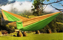 Portable 300 kg Load-bearing Outdoor Garden Hammock Hang Bed Travel Camping Swing Survival Outdoor Sleeping For Two Person