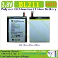 [BL211] 3.8V 4000mAh Li - Polymer lithium ion Rechargeable Mobile battery for cell phone LENOVO P780