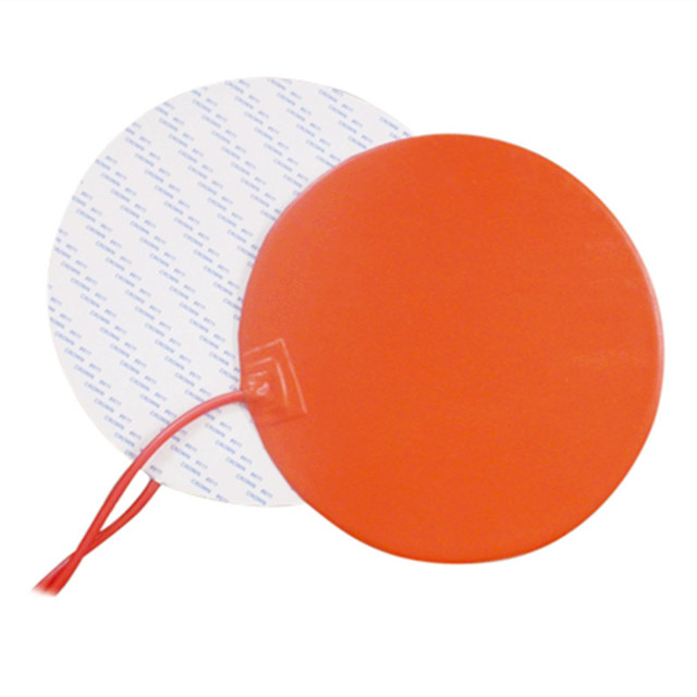 Round 140MM 12V 100W With 3M PSA NTC 100K Thermistor Silicone Heater Bed Heating Pad For 3D Printer