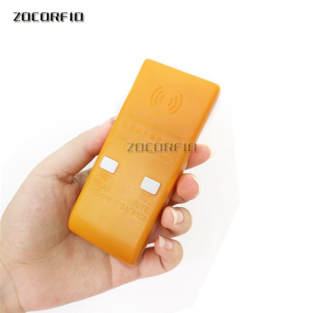Sporting Brach Firewall Handheld 125 Khz Em4100 Rfid Kopierer/access Control Karte Duplizierer Programmer Reader Em5300 Wiederbeschreibbare Keyfob Weich Und Rutschhemmend