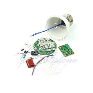 Image 1 - 1 Conjunto Energy Saving 38 LEDs Lâmpadas Kits DIY Suíte Eletrônico Novo