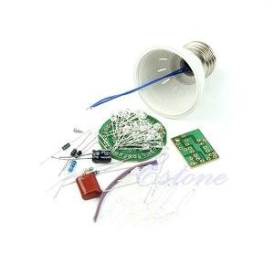 Image 1 - 1 Set Energy Saving 38 LEDs Lamps DIY Kits Electronic Suite New