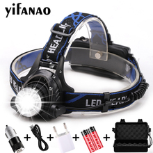 LED headlamp USB Charging LED Headlight V6/L2/T6 Zoomable Lamp Waterproof Head Torch Flashlight Torch 3 Modes Use 18650 panyue rj6000 6000lm 4 modes xml 3 t6 led headlight headlight rechargeable flashlight torch waterproof zoomable led headlamp