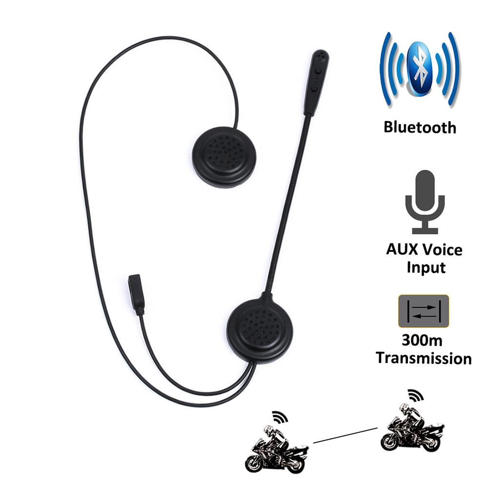 Wireless Motorcycle Intercom Headphone Speakers ElementDigital EJEAS E300 Bluetooth Helmet Headset HiFi// IP65// 2Riders 300M Intercom//Noise Reduction