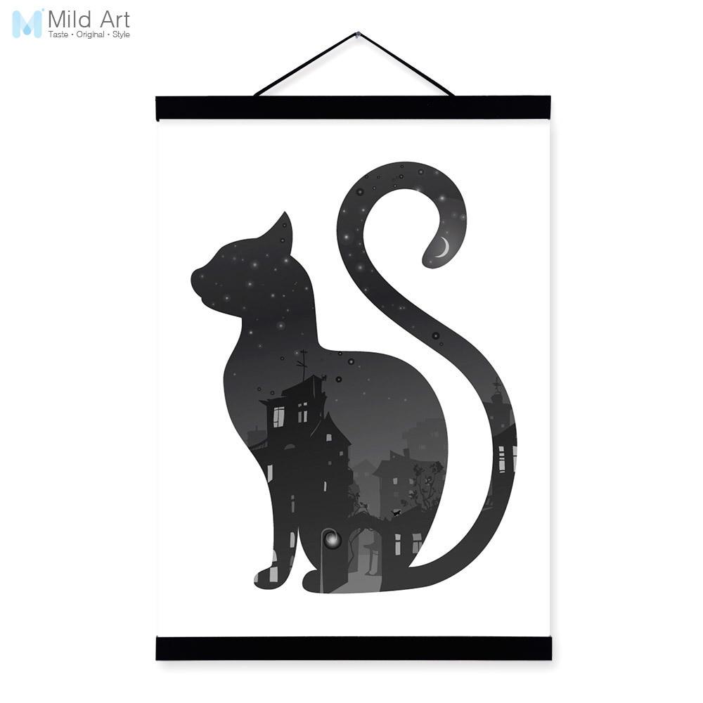 Koleksi Mewarnai Gambar Kucing Hitam Putih